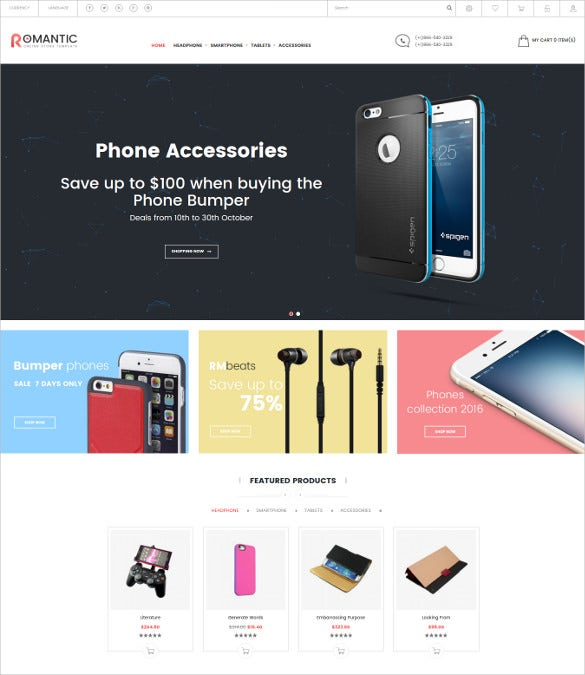 romantic multipurpose responsive opencart ecommerce theme