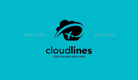 cloud airline logos template