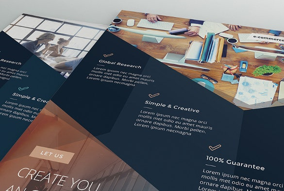 simple office usage document flyer template