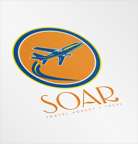 soar travel agency airline logo