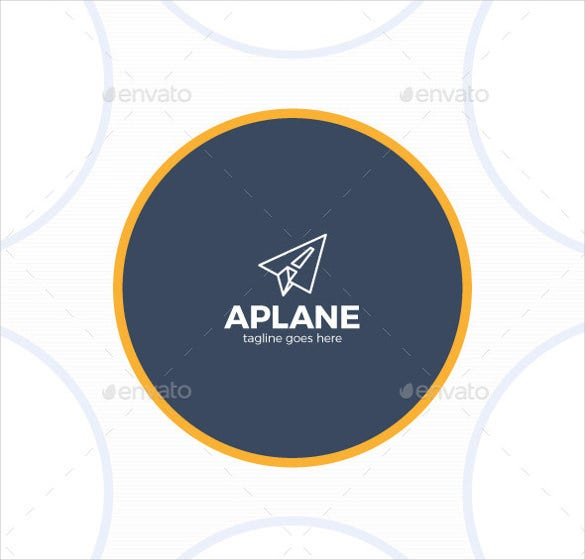 fully editable airline logo template