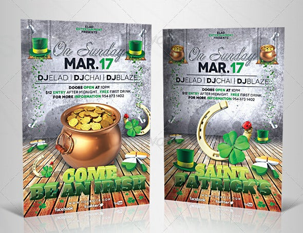 unique photorealistic fully layered 3d flyer template