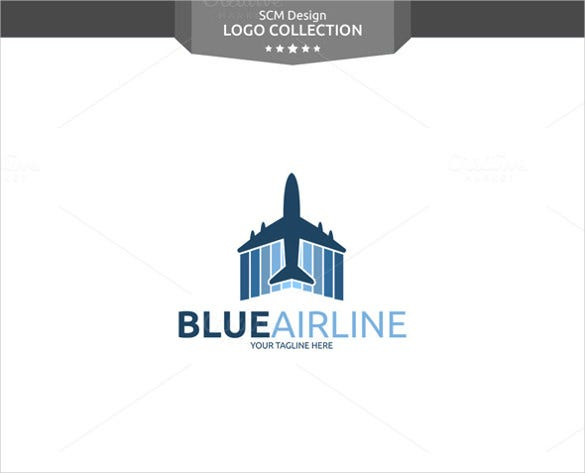 blue airline logo