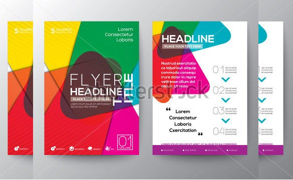 top ranked a4 flyer template