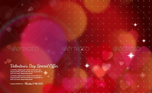 valentines day themed flyer background
