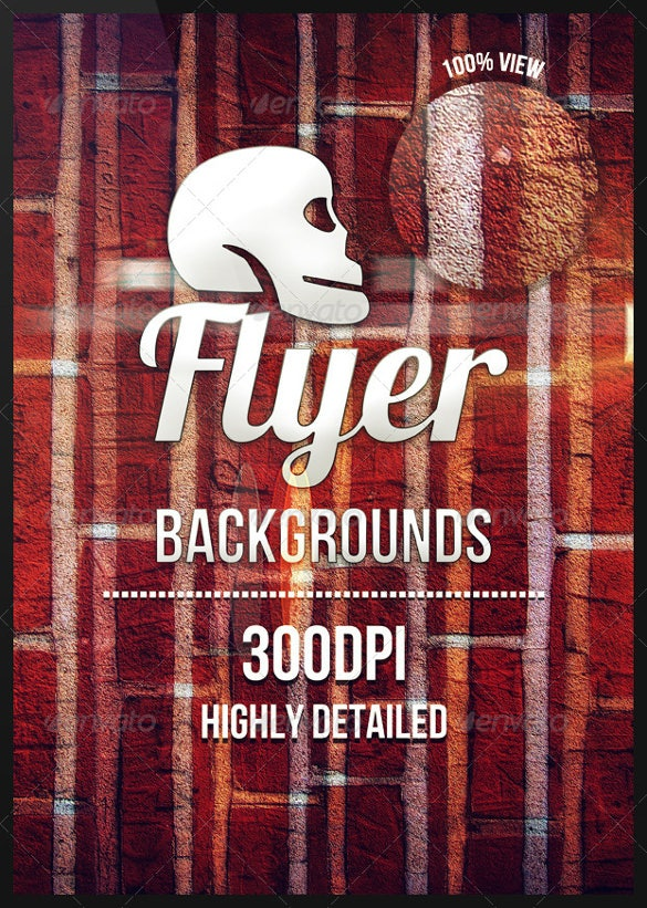 a4 size flyer background template
