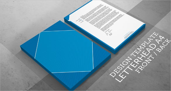 law firm corporate letterhead id package sample template download