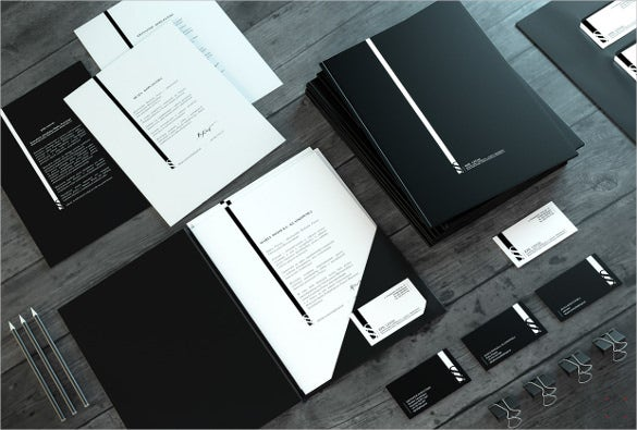 law firm identity letterhead format template download