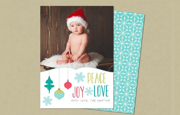 perfect holiday card template