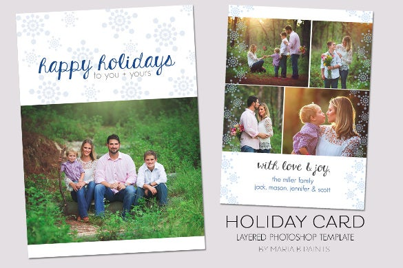 best holiday card template download - Holiday Pictures To Download