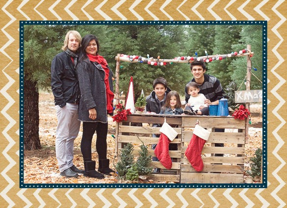 the beautiful holiday card template
