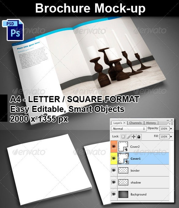 brochure mock up template - 71 hd brochure templates free psd format download