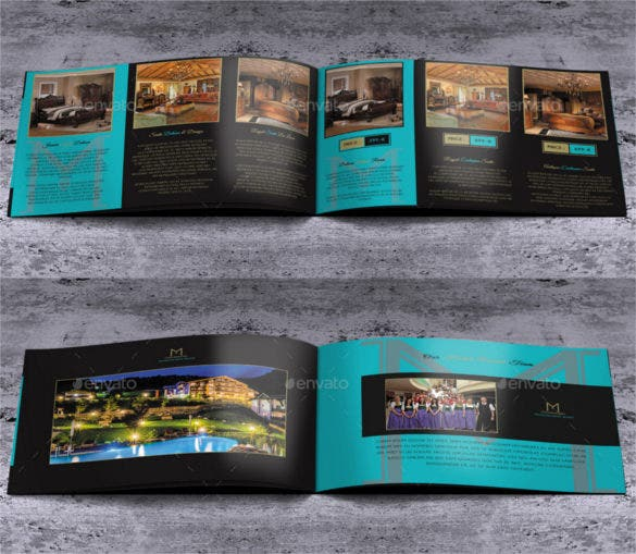 20 pages psd hotel brochure template mandragora