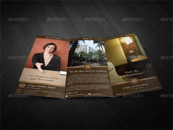 HD Brochure Templates Free PSD Format Download Free - Photoshop tri fold brochure template free