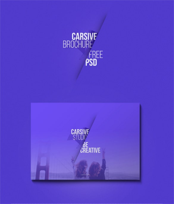 carsive 18 pages brochure freebie template download
