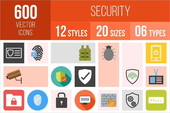 security firewall icons download