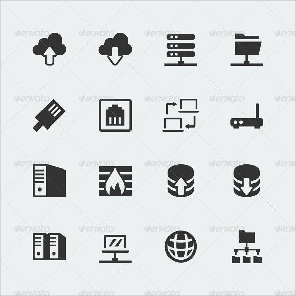 logos of firewall icons download