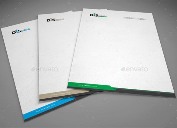 blank format custom letterhead template download