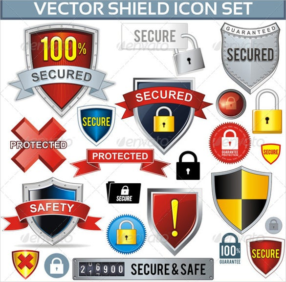 100 security firewall icons