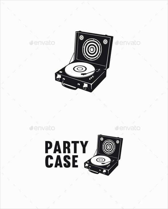 party case band logo