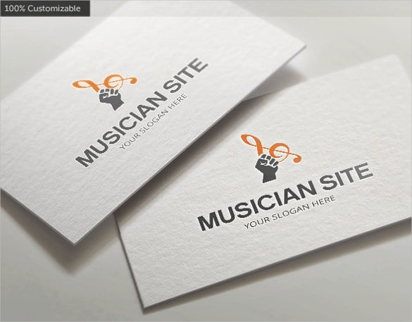 clean band logo template