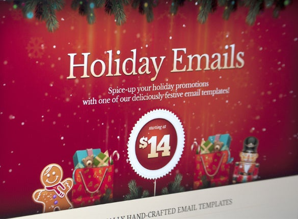 awesome holiday email template