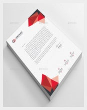 Business Free Letterhead Template
