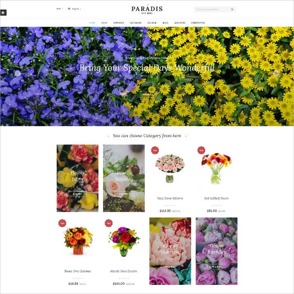 paradise responsive multipurpose prestashop html5 theme