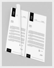 Corporate Letterhead for CompanyTemplate