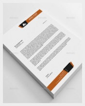 Line Business Letterhead Template