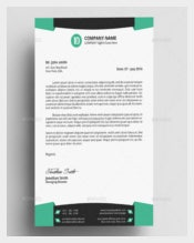 MS Word Professional Letterhead