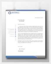 Professional Corporate Letterhead Template