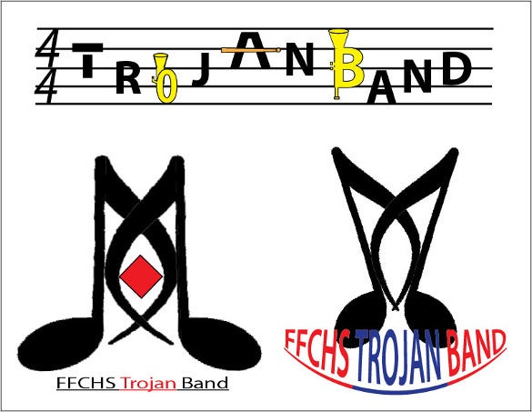cool band logo template