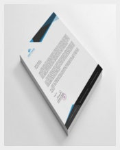 Format Example Personal Letterhead Template Download