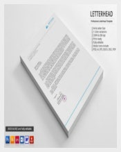 Personal Letterhead Sample Example Template