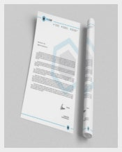 Corporate Letterhead Design Example Template  Download