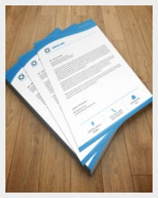 Company Letterhead Design Sample Download