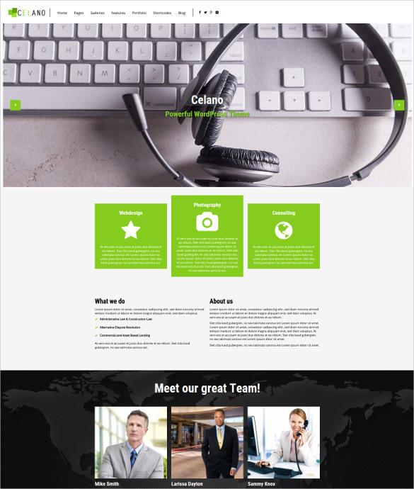 celano multipurpose html5 wordpress theme