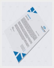 Corporate Letterhead Legal Sample Template
