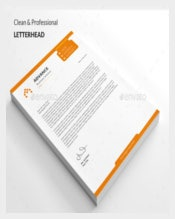 Letterhead Custom Sample Template