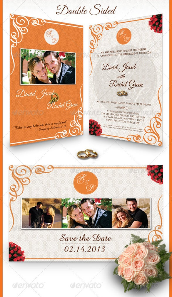 best couple flyer design template
