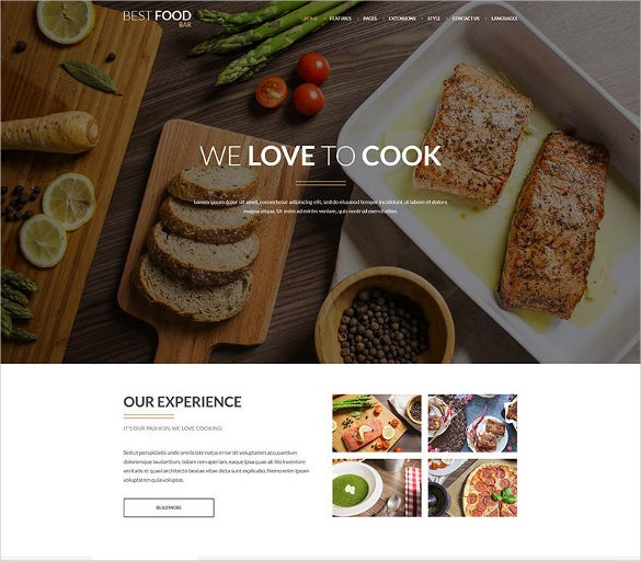 jm best food bar restaurant food joomla template
