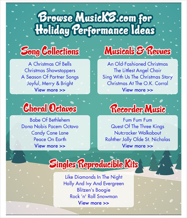 holiday newsletter template 16 free jpg psd pdf format download