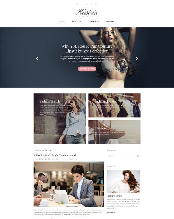 kustrix lifestyle blog wordpress theme1