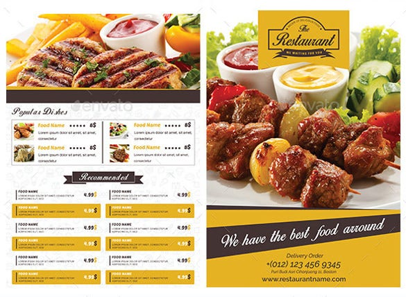 Flyer Design Food  CityEsporaCo