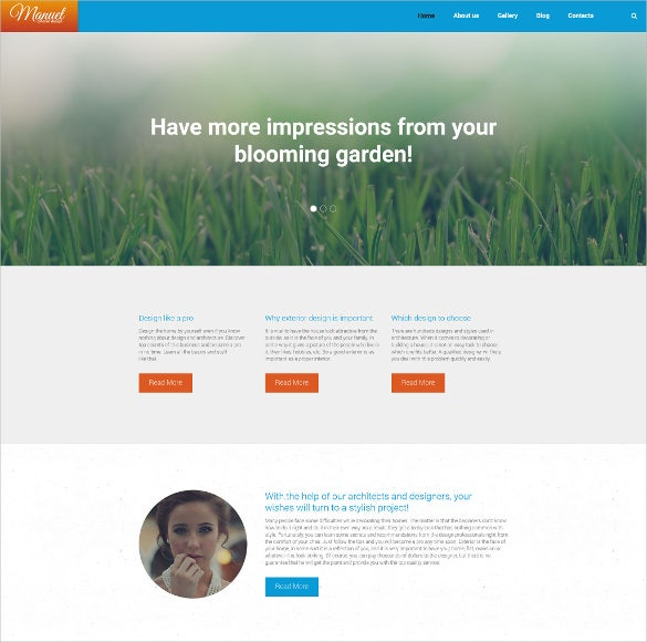 manuel wordpress theme