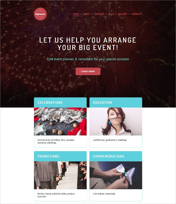 eplannr wordpress theme