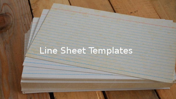 linesheettemplate