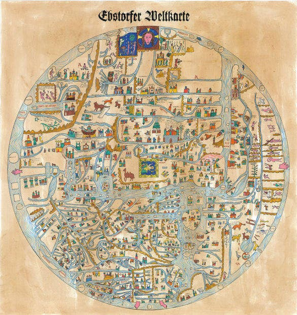 ebstorf world map for free