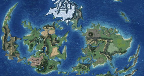 fantasy vii remake has a world map